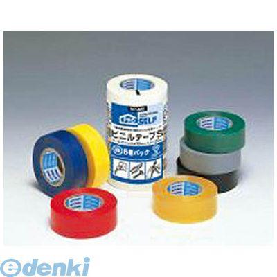 ニトムズ J2595 ビニルテープS 19X10 5巻パック 白 40入 【送料無料】