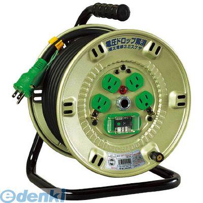 【あす楽対応】日動工業 [NPEB24F] 100V漏電遮断器付電工ドラム 3.5SQ【送料無料】