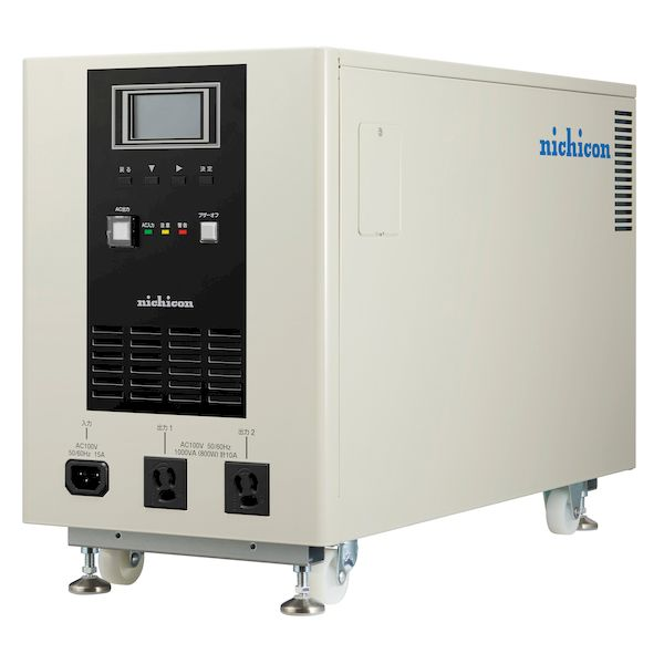 ニチコン ESS-P1S1 直送 代引不可・他メーカー同梱不可 ポ-タブル蓄電池 ESSP1S1