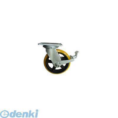 ヨドノ [SDUJ200ST] 重量用高硬度ウレタン自在車200φストッパー付【送料無料】