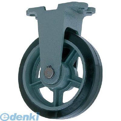 ヨドノ HBK410X75 直送 代引不可・他メーカー同梱不可 鋳物重荷重用ゴム車輪固定車付き HBーk410X75【送料無料】