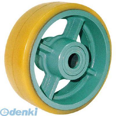 ヨドノ UHB360X90 直送 代引不可・他メーカー同梱不可 鋳物重荷重用ウレタン車輪ベアリング入 UHB360X90