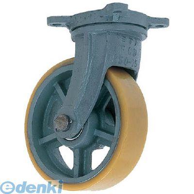 ヨドノ UHBG300X100 直送 代引不可・他メーカー同梱不可 鋳物重荷重用ウレタン車輪自在車付き UHBーg300X100【送料無料】