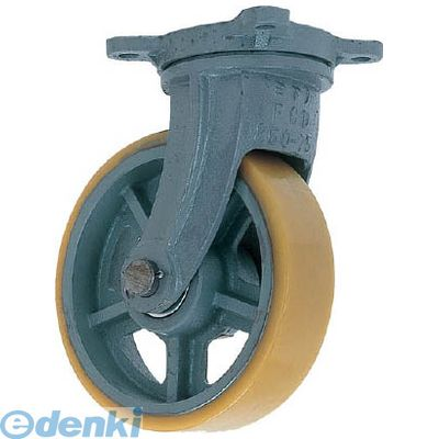 ヨドノ UHBG300X90 直送 代引不可・他メーカー同梱不可 鋳物重荷重用ウレタン車輪自在車付き UHBーg300X90【送料無料】