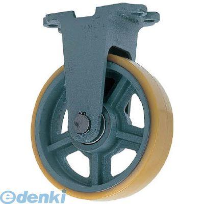 ヨドノ UHBK300X100 直送 代引不可・他メーカー同梱不可 鋳物重荷重用ウレタン車輪固定車付き UHBーk300X100【送料無料】