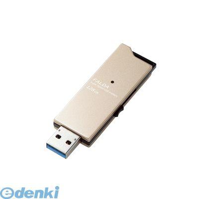 ELECOM (エレコム)[MF-DAU3128GGD] USBメモリー/USB3.0対応/スライド式/高速/DAU/128GB/ゴールドMFDAU3128GGD【送料無料】
