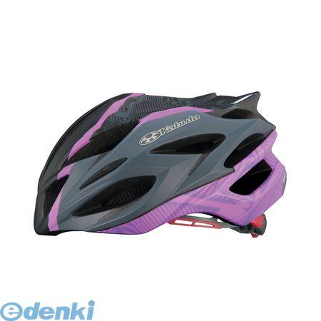 OGK KABUTO(オージーケーカブト)[4966094546069] STEAIR LADIES ヘルメット マットブラックパープル S/Mスリム【送料無料】