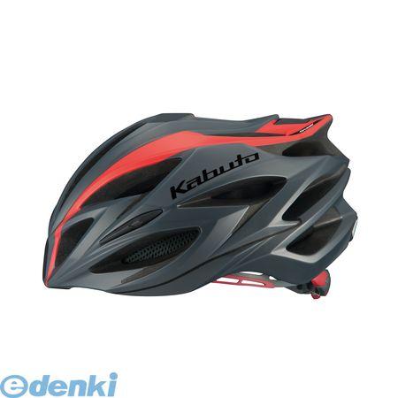 OGK KABUTO(オージーケーカブト)[4966094567910] STEAIR ヘルメット ラインマットレッド L/XL【送料無料】
