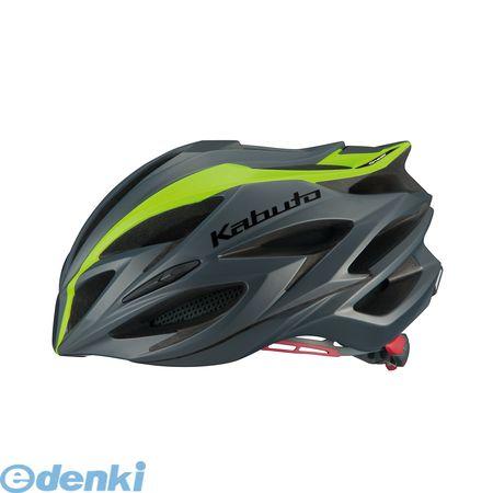 OGK KABUTO(オージーケーカブト)[4966094567934] STEAIR ヘルメット ラインマットグリーン L/XL【送料無料】