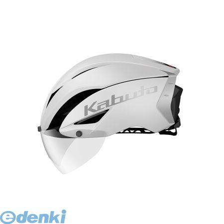 OGK KABUTO(オージーケーカブト)[4966094568269] AERO-R1 ヘルメット マットホワイト-1 L/XL【送料無料】