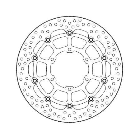 アクティブ(MOTO MASTER)[112287] ヘイローディスク フロント/φ320 左右共通