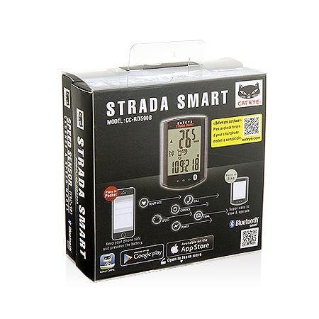 キャットアイ(CATEYE)[4990173026135] STRADA SMART サイクロコンピュータ スピード+ケイデンスキット CC-RD500B 【SPD/CDC】