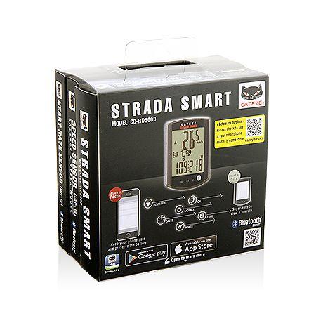 キャットアイ(CATEYE)[4990173026142] STRADA SMART サイクロコンピュータ トリプルワイヤレスキット CC-RD500B 【SPD/HR/CDC】