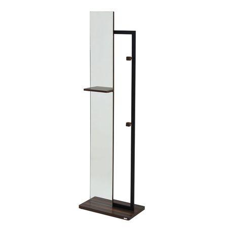 JKプラン[DRT-1005-BK]「直送」【代引不可・他メーカー同梱不可】 【Re・conte】 Rita series Hanger MirrorDRT1005BK