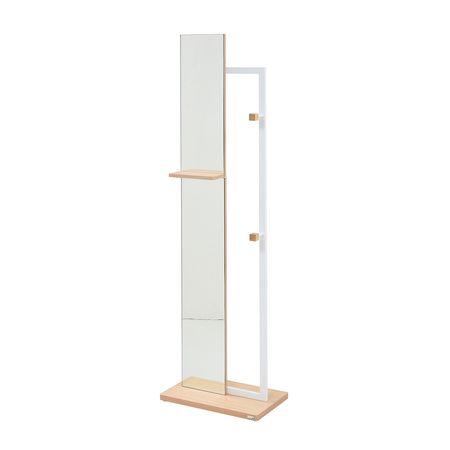 JKプラン[DRT-1005-WH]「直送」【代引不可・他メーカー同梱不可】 【Re・conte】 Rita series Hanger MirrorDRT1005WH