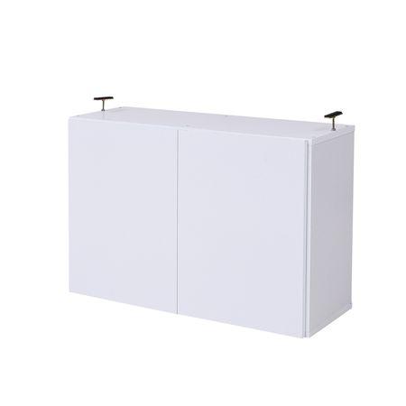 JKプラン[FRM-0110DOOR-WH]「直送」【代引不可・他メーカー同梱不可】 MEMORIA 棚板が1cmピッチで可動する 深型扉付上置き幅81FRM0110DOORWH