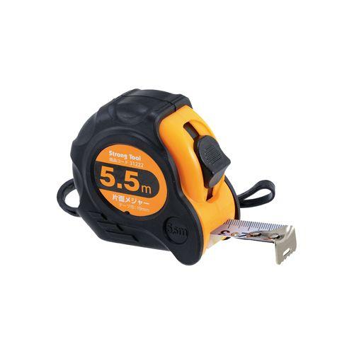 イチネンミツトモ 31222 待望 片面メジャー 5.5m×19mm イチネンMTM Tool 測量用品 Strong 開催中 ストロングツール