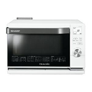 シャープ(SHARP)[AX-CA450-W] スチームオーブンレンジ ウォーターオーブン ヘルシオ 18L ホワイト AXCA450W