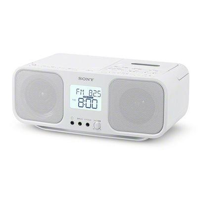 ソニー(SONY)[CFD-S401-W] CDラジオカセットレコーダー ホワイト CFDS401W