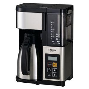 象印(ZOJIRUSHI)[EC-YS100-XB] コーヒーメーカ- 珈琲通 ステンレスブラック ECYS100XB