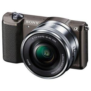 ソニー(SONY)[ILCE-5100L-T] ミラーレス一眼カメラ「α5100」パワーズームレンズキット ブラウン ILCE5100LT