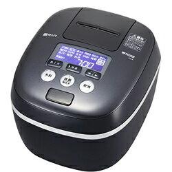 タイガー魔法瓶(TIGER)[JPC-A102-KE] 圧力IH炊飯器 5.5合炊き 炊きたて 熱流&熱封土鍋コーティング アーバンブラック JPCA102KE