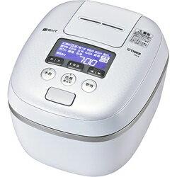 タイガー魔法瓶(TIGER)[JPC-A102-WE] 圧力IH炊飯器 5.5合炊き 炊きたて 熱流&熱封土鍋コーティング アーバンホワイト JPCA102WE