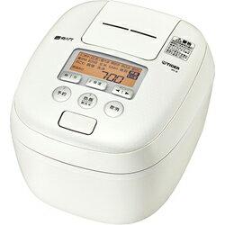タイガー魔法瓶(TIGER)[JPC-B102-WM] 圧力IH炊飯器 5.5合炊き 炊きたて 熱流&熱封土鍋コーティング ミルキーホワイト JPCB102WM