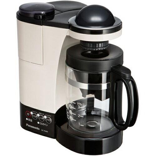 パナソニック[NC-R400-C] ミル付き浄水コーヒーメーカー カフェオレ色 NCR400C