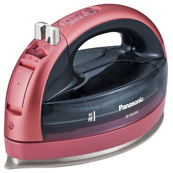 パナソニック[NI-WL604-P] コードレススチームアイロン カルル ピンク NIWL604P