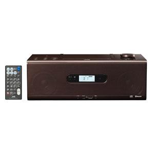 ケンウッド KENWOOD RD-W1-T Bluetooth対応 CDポータブルシステム ブラウン RDW1T