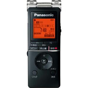 パナソニック RR-XS470-K リニアPCM対応ICレコーダー8GBメモリ内蔵+外部マイクロSDスロット搭載 ブラック RRXS470K