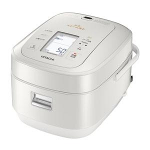 日立[RZ-AW3000M-W] 圧力&スチームIHジャー炊飯器 ふっくら御膳 5.5合炊き パールホワイト RZAW3000MW