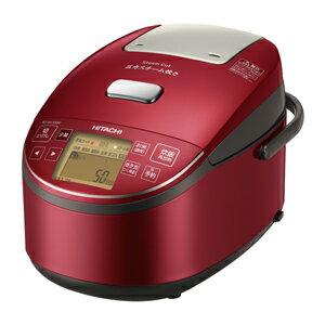 日立[RZ-BV100M-R] 圧力&スチームIHジャー炊飯器 ふっくら御膳 5.5合炊き メタリックレッド RZBV100MR