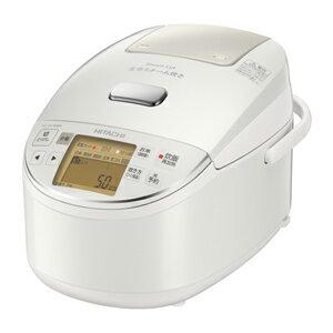 日立[RZ-BV100M-W] 圧力&スチームIHジャー炊飯器 ふっくら御膳 5.5合炊き パールホワイト RZBV100MW