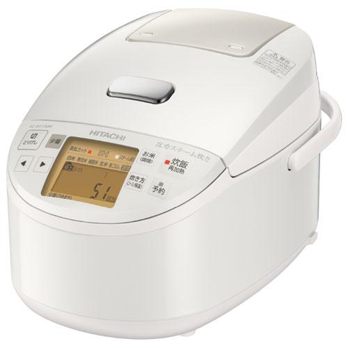 日立 RZ-BX100M-W 圧力IH炊飯器 5.5合 パールホワイト RZBX100MW