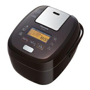 パナソニック[SR-PA108-T] 可変圧力IHジャー炊飯器 5.5合炊き おどり炊き ブラウン SRPA108T