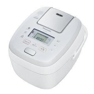 パナソニック[SR-PB108-W] 可変圧力IHジャー炊飯器 5.5合炊き おどり炊き ホワイト SRPB108W