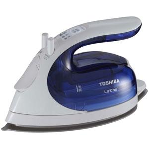 【ポイント最大29倍 2月25日限定 要エントリー】東芝 TOSHIBA TA-FVX540-L コードレススチームアイロン コンパクト美ラクルLa・Coo ブルー TAFVX540L