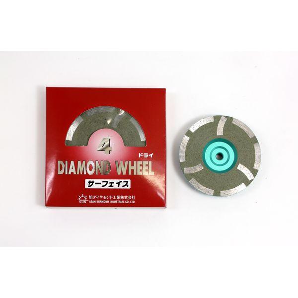 旭ダイヤモンド 2004534 サーフェーサー 4インチ 7.0XM10