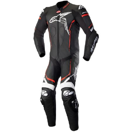 アルパインスターズ alpinestars 8021506923220 GP PLUS 2 LEATHER SUIT 1231 BLACK WHITE RED FLUO 60