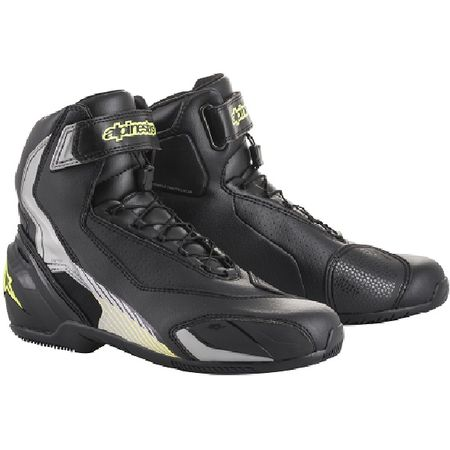 アルパインスターズ(alpinestars)[8033637023694] SP-1 SHOES 1018 BLACK SILVER YELLOW FLUO 44