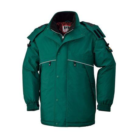 [4930269101957] BEE MAX BM785 ボウカンコート 色:グリーン サイズ:6L