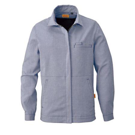 4930269129425 SMART WORK WEAR 新商品 レデイースギンガムジヤケツト 色:インペリアルブルー SEAL限定商品 サイズ:4L SW119