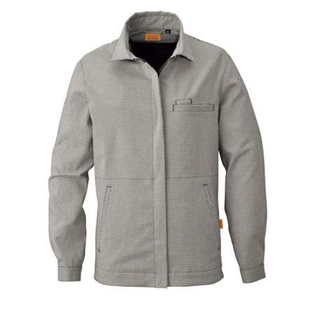 売買 店内全品対象 4930269129494 SMART WORK WEAR SW119 サイズ:EL 色:ブラツク レデイースギンガムジヤケツト