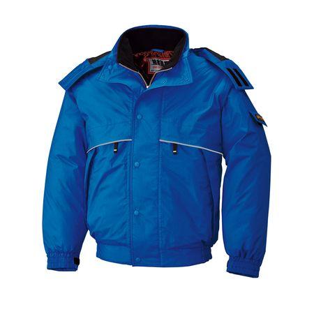 [4930269176726] BEE MAX BM786 ボウカンジヤケツト 色:ロイヤルブルー サイズ:6L