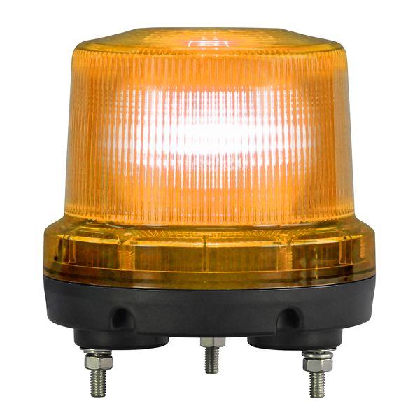【個数:1個】日恵 VK16R-D24XY 直送 代引不可・他メーカー同梱不可 ニコトーチ160φ高輝度 黄 DC12V‐24V 回転仕様 ブザー付 VK16RD24XY