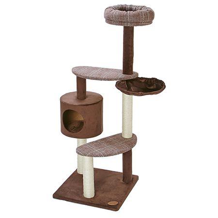 ペティオ[4903588255038] アドメイト 猫のおあそびポールチェック ハイタイプ A25503