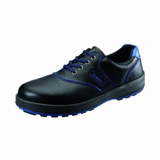 シモン SL11BL クロ/ブル-245 JIS安全靴 SL11BLクロ/ブル245