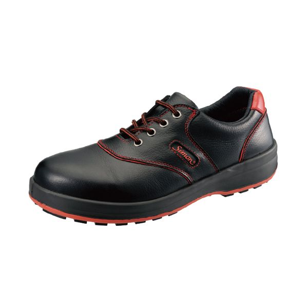 シモン SL11R クロ/アカ255 JIS安全靴 SL11Rクロ/アカ255